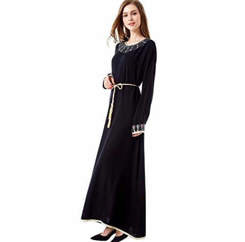 arab black dress - 8