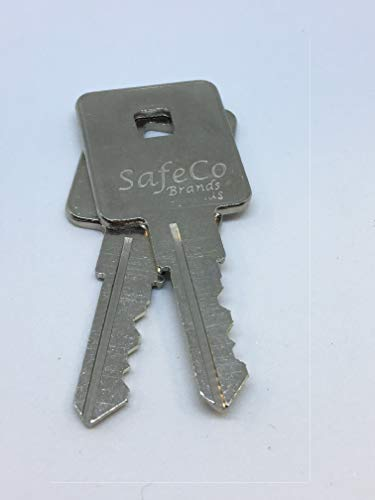 TriMark Keys for Tonneau Truck Covers, Rv, Motorhome TR1001 - TR1050 2-Keys SafeCo Brands (TR1032) ()