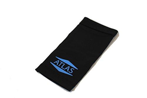 Atlas Copper Ankle Compression Sleeve, Unisex Medium