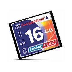 Dane-Elec DACF16GBR 16GB CompactFlash Memory Card