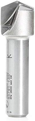 "B014WU7IJ4 Amana Tool - 45791 Carbide Tipped Double Edge Folding V-Groove 135 Deg x 0.080\"" Tip Wi 314fWYMl8-L"
