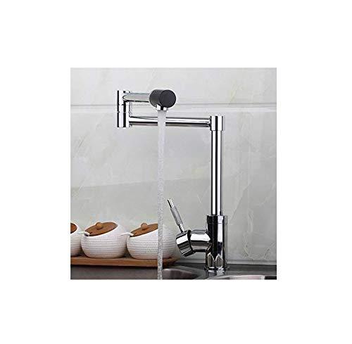 Kitchen Faucets Chrome Polish Kitchen Faucets Deck Mount Single Handle Mixer Bar Taps Pot Filler Sink Faucet Kitchen Sink Faucets