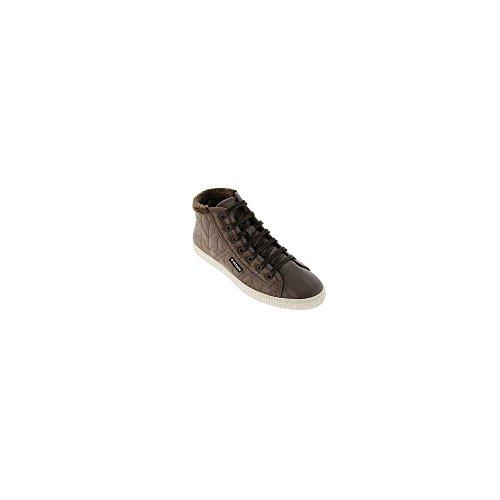 Zapatillas Victoria 09915 - Bota Acolchada con Pelo Marino mujer Taupe