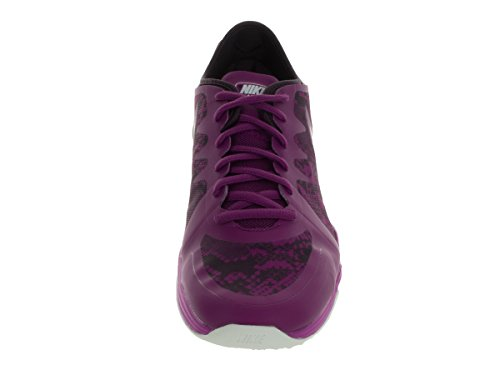Nike W Dual Fusion Tr 3 Print, Zapatillas de Gimnasia para Mujer Morado (Purple Dusk / White-Noble Purple)