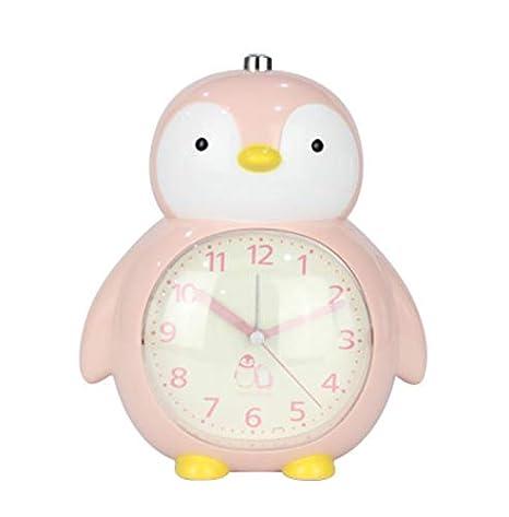 Creativo Reloj de Pingüino de Dibujos Animados Estudiante ...