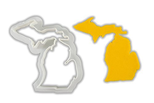 Michigan State Cookie Cutter - LARGE - 4 Inches
