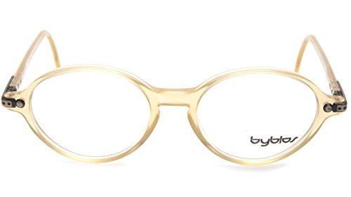 Byblos Glasses - NEW BYBLOS B154 7078-S BEIGE EYEGLASSES GLASSES FRAME 49-17-135 B40mm Italy
