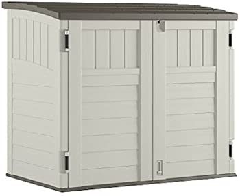 Suncast 34 cu. ft. Horizontal Storage & Utility Shed
