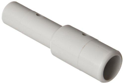 SMC KQ2 Series Polybutylene Terephthalate Push-to-Connect Tube Fitting, Reducer Nipple, 1/4