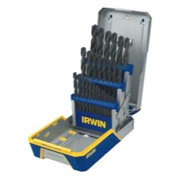 29 Piece Black Oxide Metal Index Drill Bit Set Tools Equipment Hand Tools