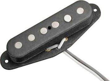 【 並行輸入品 】 Bill Lawrence S2 Single Coil Strat ピックアップ Middle Position Black   B00JEFLTWU