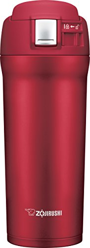 Zojirushi SM-YAE48RA Travel Mug, 16 oz, Cherry Red