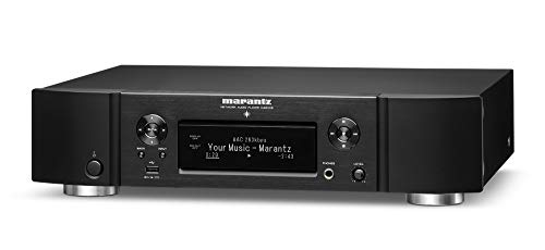 Marantz NA6006 Network Audio Player, Audiophile Designed D/A Conversion, HDAM, Digital Filtering, With WiFi, Airplay 2, Bluetooth & HEOS, Amazon Alexa Compatibility