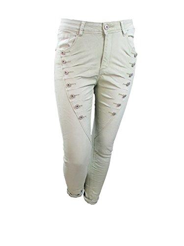 Sable Jeans Femme chaud Boyfriend Mozzaar ZgRq4w