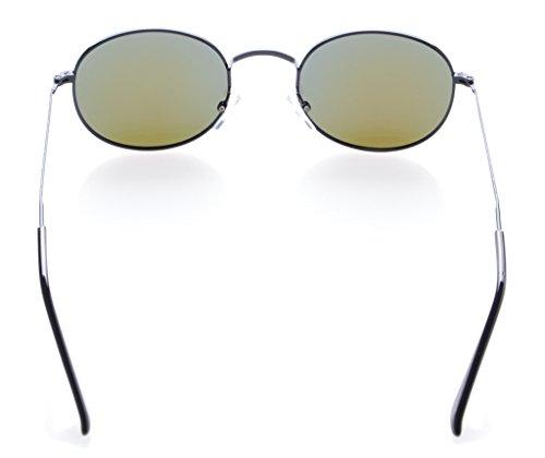 bleu vintage polarisees Eyekepper style Soleil de Lunettes noir qualite YwqH8Rt