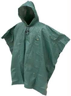 Frogg Toggs Packable Adult Poncho - Green