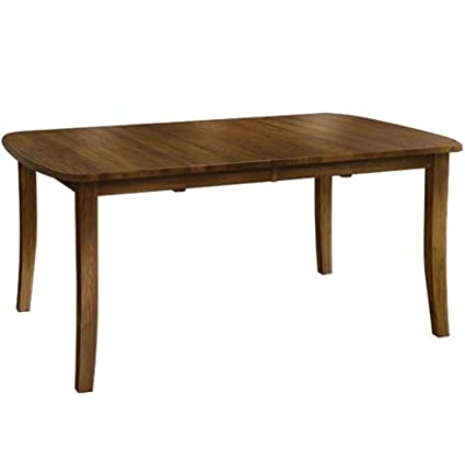 Incredible Amazon Com Virginian Amish Dining Table Brown Maple Wood Home Interior And Landscaping Ologienasavecom