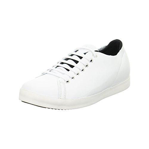 Tamaris 1-1-23654-38 104 - Zapatos de cordones de Piel para mujer blanco Weiß Weiß