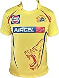 ARFA Unisex Polyester IPL Chennai Super Kings T-Shirt (Yellow, 11-15 Years)