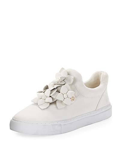 (Tory Burch Blossom Neoprene Floral Sneaker 41/11 White)