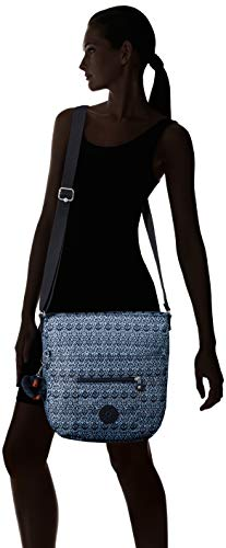 Strap Zip Kipling Saddle Bliss Crossbody Adjustable Bliss Geometric Closure Bailey Bag Geometric FgSw4