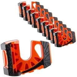10-Pack Wedge-es Ultimate Door Stop - Orange