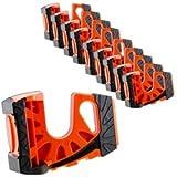 10-Pack Wedge-It Ultimate Door Stop - Orange