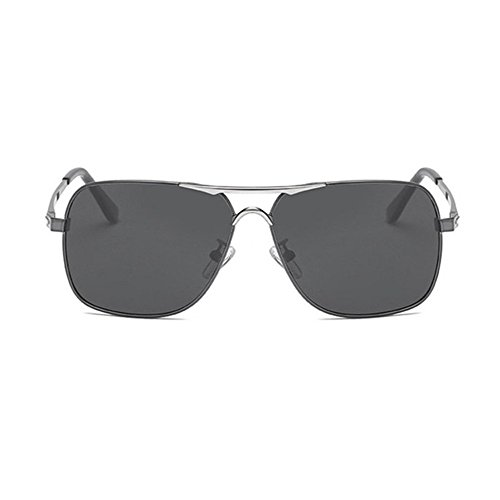gafas Aoligei gafas doble C Hombres electrochapados sol de polarizadas de de color de sol SS1axrqv