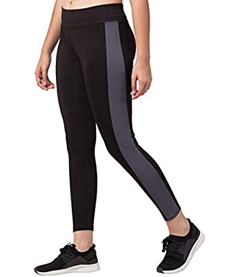 Bluecon Ankle-Length Gym legging | Workout Pant| Stretchable Jeggings | High Waist Sports Yoga Pants for Girls & Women