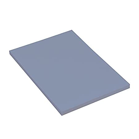 Sky Grey Pack of 25 Sheets Canson Mi-Teintes A3 160 GSM Honeycombed Grain Colour Drawing Paper