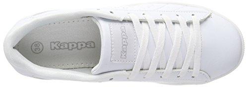 Kappa Blanc Meseta blanc Baskets 1010 Unisexe Adulte rqw6rP1