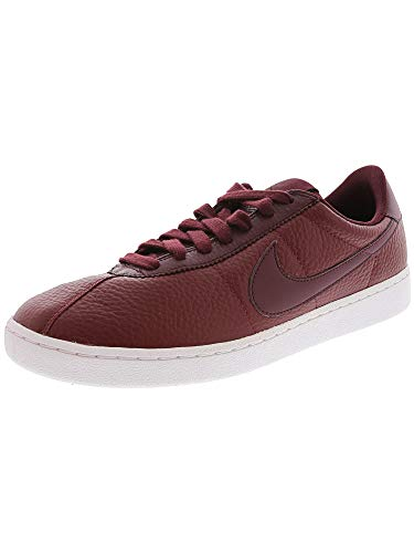 Nike Bruin Leather 845056-601 Team Red/White/Night Maroon Swoosh Men's Shoes (11)