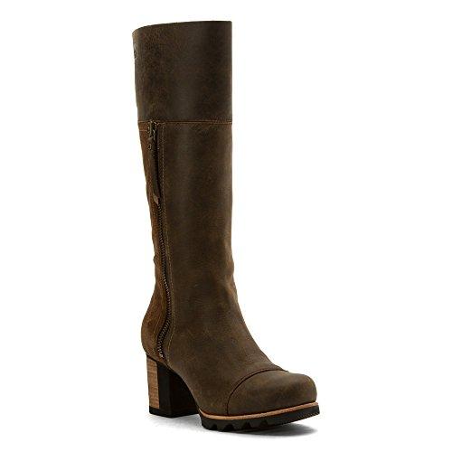 Sorel Addington Tall Boot - Women's Umber / Black 11