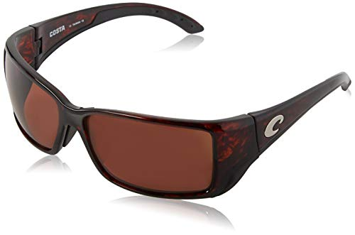 - Costa Del Mar BL10GFOCP Blackfin Sunglass, Tortoise Frame Global Fit Copper