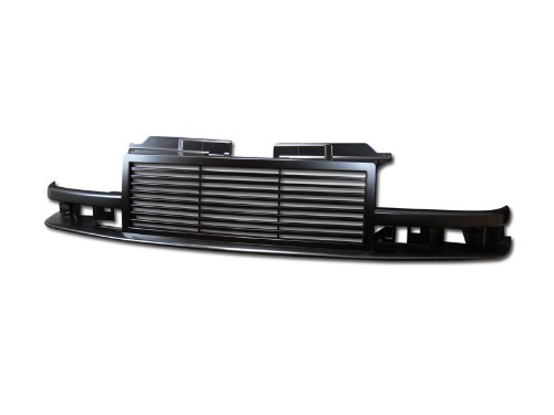 BLK HORIZONTAL BILLET SPORT FRONT GRILL GRILLE 98-04 ABS CHEVY S10 BLAZER/PICKUP (99 Blazer Grill compare prices)