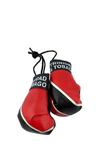 (Red Hat Ent Hanging Car Mirror Mini Boxing Gloves (Trinidad and Tobago))
