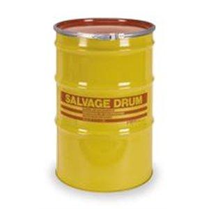 Salvage Drum, Open Head, 85 gal, Yellow