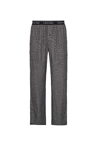 Pyjama De Calvin KleinBas Gris Homme Black Check Mill ONwv8n0m