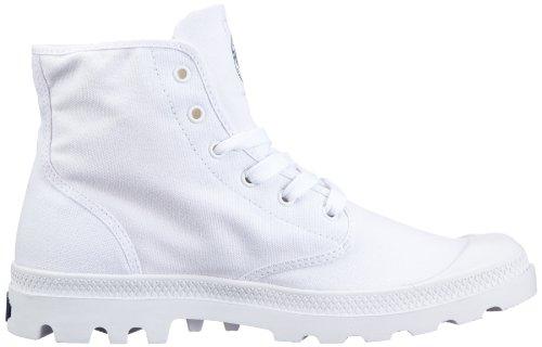 HI Hi adulte BLANC mixte basses Chaussures Blanc Palladium wtn6P5q8x