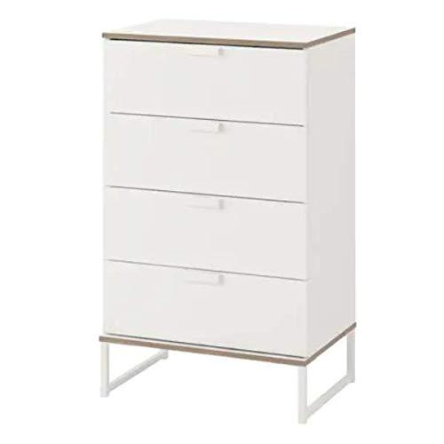 TRYSIL IKEA - Cómoda con 4 cajones en Color Blanco/Gris Claro; (60 ...