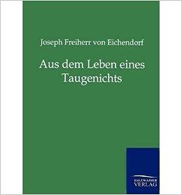 Book Aus Dem Leben Eines Taugenichts (Paperback)(German) - Common