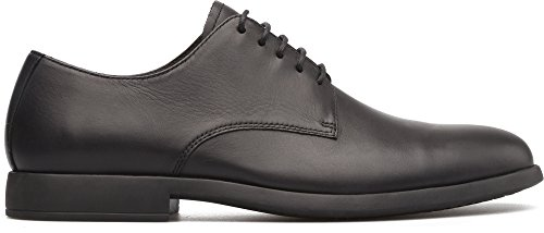 (Camper Men's Truman K100243 Oxford Flat, Black, 44 M EU (11 US))