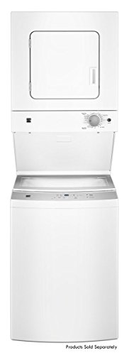 Kenmore 81452 24″ 1.6 cu. ft. 240V Electric Laundry Center, White
