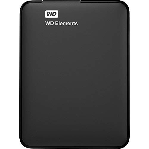 WD 2TB Elements Portable External Hard Drive - USB 3.0 - WDBU6Y0020BBK-WESN (Renewed) ()