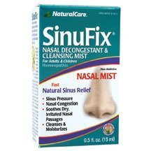 Natural Care Sinufix Mist .5 oz (Pack of 2) by Natural Care