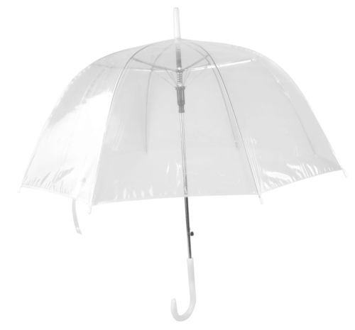 New Fashion Clear See Through Rain Transparent Umbrella (Patio Through Umbrella See)