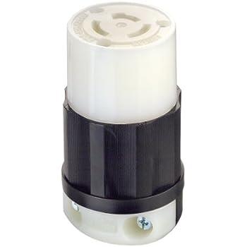 Hubbell Hbl9965c Locking Plug 3 Pole 3 Wire 20 Amp 125