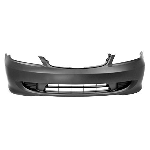 (MBI AUTO - Painted to Match, Front Bumper Cover for 2004 2005 Honda Civic, HO1000216)