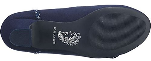 Women's Shoo Ruby Pumps Shoe Court Navy Cordelia 041xaqA