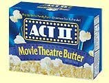 Act II Microwave Popcorn, Movie Theatre Butter, 3ct, 3oz Bags
